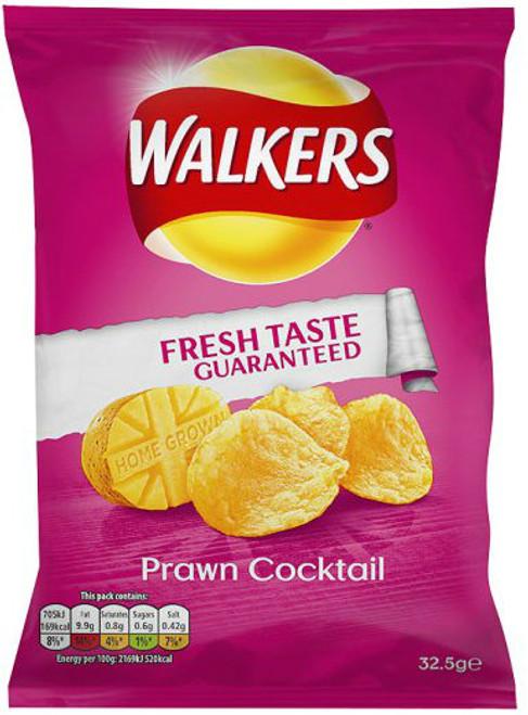Walkers Crisps - Prawn Cocktail 32.5g