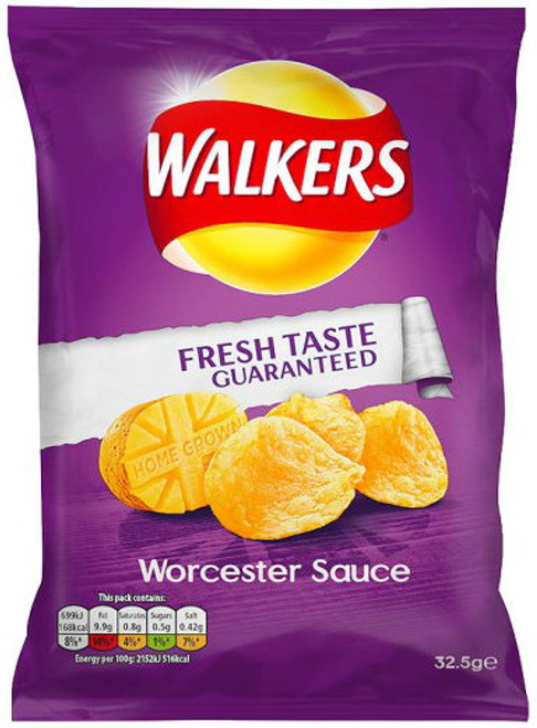 Walkers Crisps Worcester Sauce 32.5g