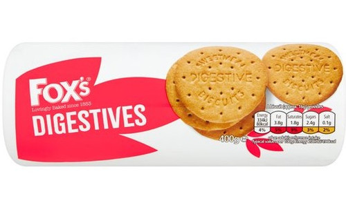 Foxs Digestive Biscuits 400g