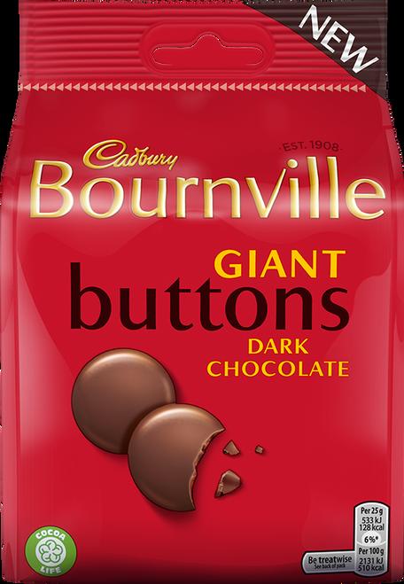 Bournville Dark Chocolate Buttons 95g