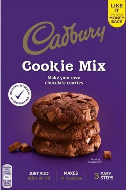 Dairy Milk Double Chocolate Cookie Mix 265g