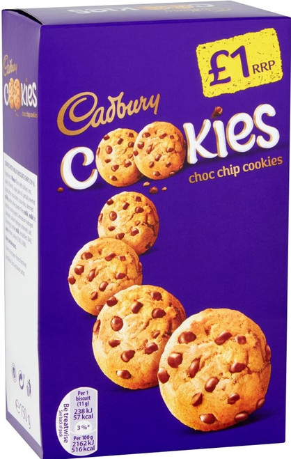 Dairy Milk Chocolate Chip Cookies 150g