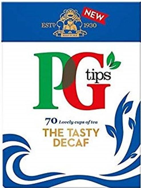 PG Tips Decaf 70 Pack