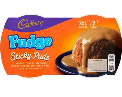 Fudge Sponge Pudding 2x95g
