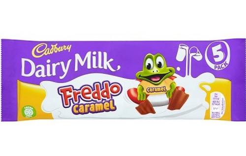 Freddo Dairy Milk Caramel 5 Pack 97.5g