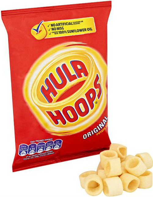Hula Hoops Original 43g - 12 Pack