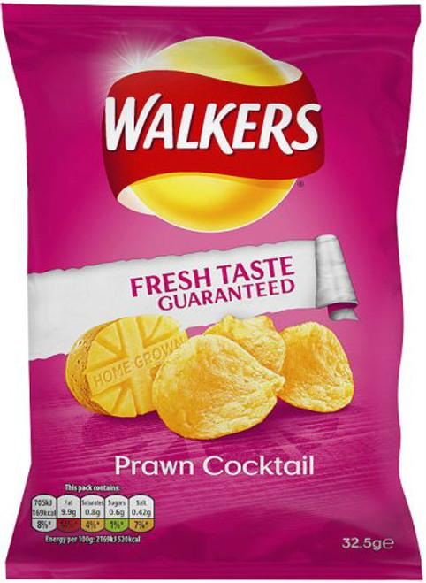 Walkers Prawn Cocktail Crisps 12 Pack