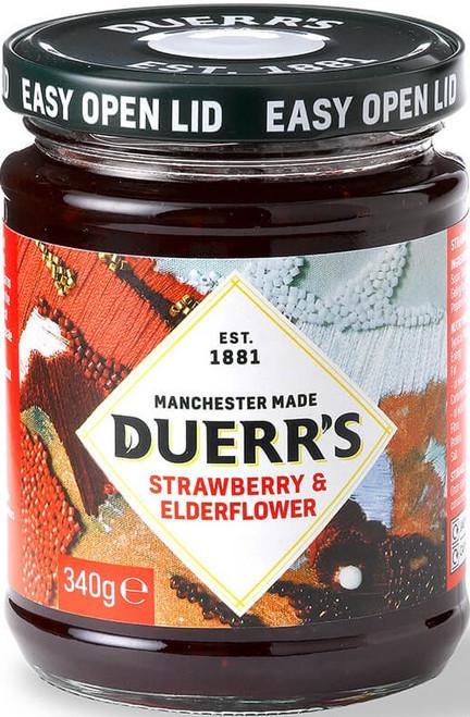 Duerr's Strawberry & Elderflower Jam 340g