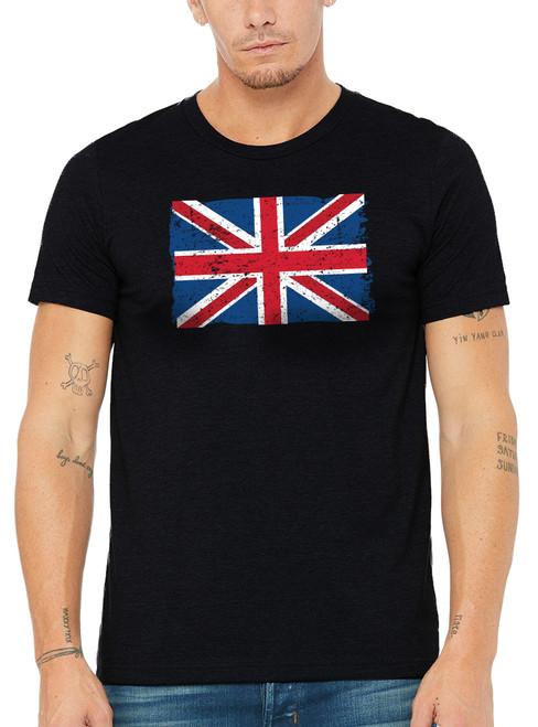 Men's Union Jack T-Shirt - Black
