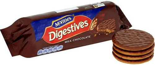 Mcvities Milk Choc Digestives 300g 3 Pack