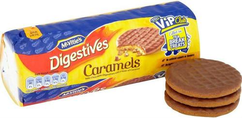 Mcvities Chocolate Caramel Digestives 300g Pack of 3