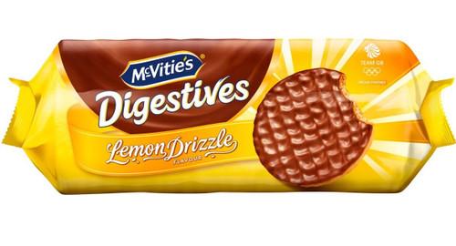McVities Lemon Drizzle Digestives 243g *BEST BEFORE SEPTEMBER 18, 2021*