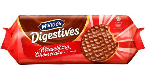 McVities Strawberry Cheesecake Digestives 243g