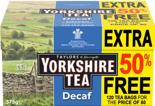 Yorkshire Decaf Tea 120 Pack