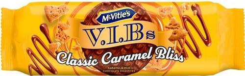 McVities Caramel VIB Digestives 250g *BEST BEFORE OCTOBER 16, 2021*