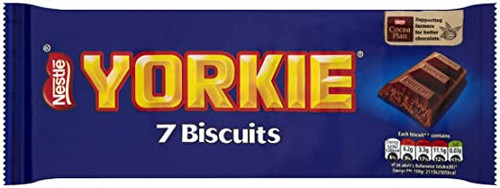 Nestle Yorkie Biscuit 7 Pack 171.5g