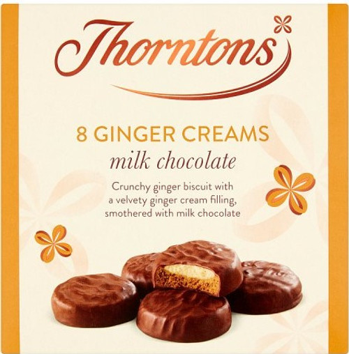 Thorntons Ginger Chocolate Creams 128g