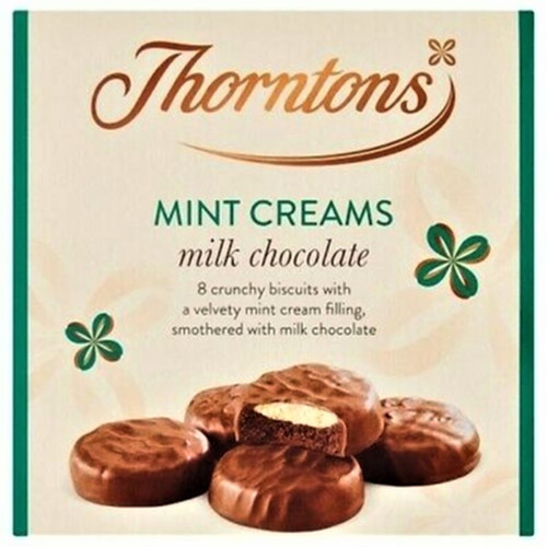 Thorntons Mint Chocolate Creams 128g