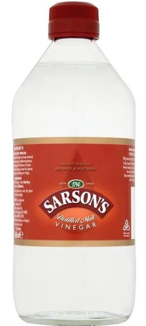 Sarsons Distilled Malt Vinegar 568ml