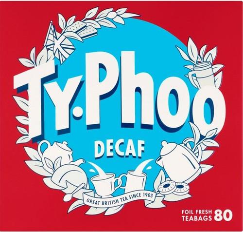 Typhoo Tea Decaf 80 Pack