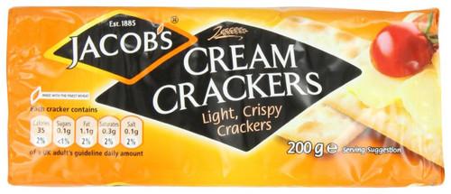 Cream Crackers 6 Pack