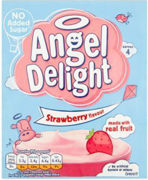 Birds Angel Delight - Strawberry 59g