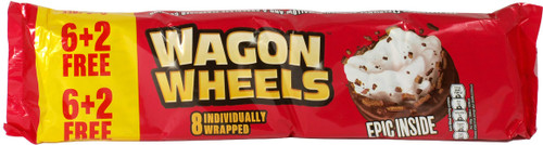 Burtons Wagon Wheel 8 pack