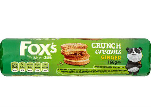 Fox's Ginger Classic Creams 230g