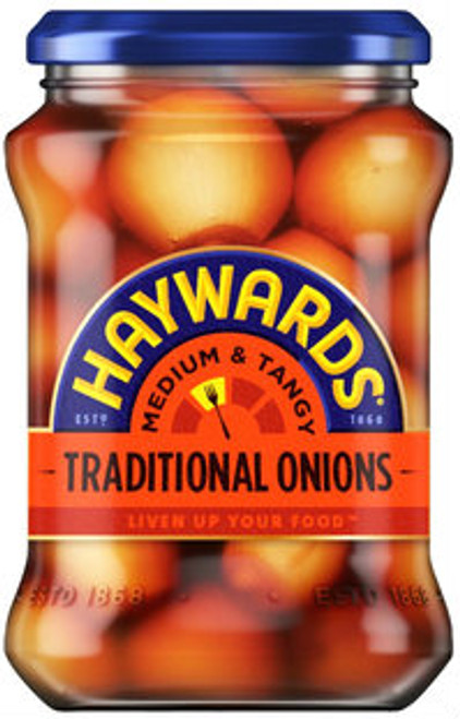 Haywards Traditional Pickled Onions 400g - Case of 6