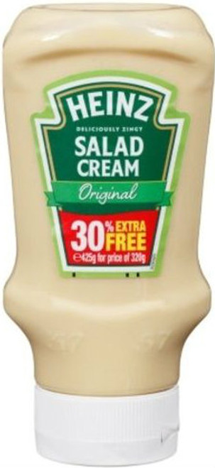 Heinz Salad Cream Squeeze Bottle 425g