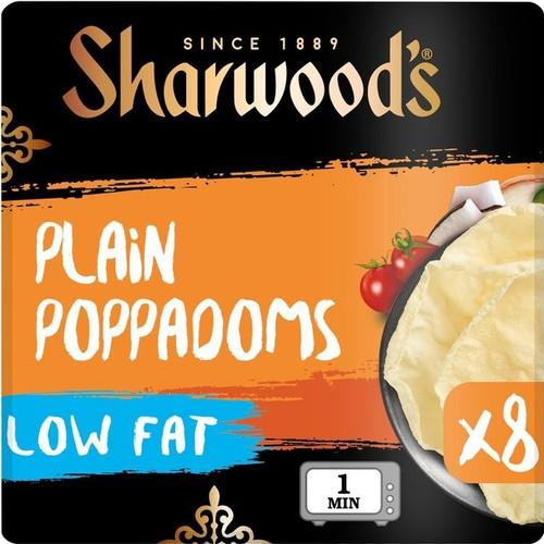 Sharwoods Puppodums 8 Pack