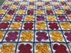 Happy Flower Hand Crochet Blanket. 62x62