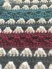 Midnight Moon Hand Crochet Blanket. 78x78