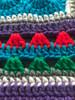 Fruit Sensation Hand Crochet Blanket. 76x76