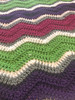 Afternoon Relax Hand Crochet Blanket. 62x70