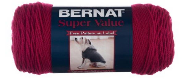 Bernat Super Value is the essential worsted weight yarn for a wide variety of projects. Knit and crochet home decor, garments, and accessorie