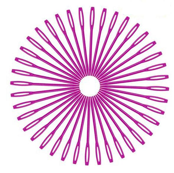 50 PCS Large Eye Yarn Needles