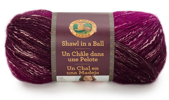 Lion Brand Shawl in a Ball