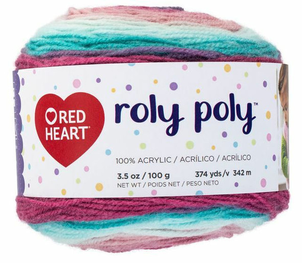Red Heart Roly Poly Yarn