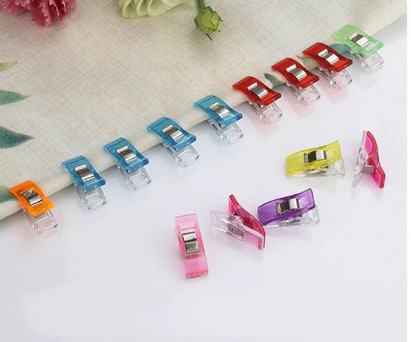 25PCS Multipurpose Sewing Clips Assorted Colors