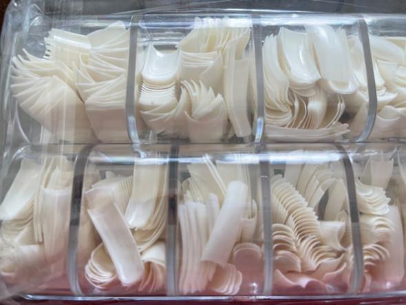 500PCS Acrylic Nail Tips. Free Nail Glue.