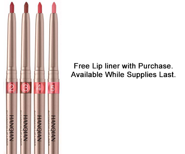 Handcrafted Flavored, Shiny & Smooth Lip Gloss. Free Lip Liner with Purchase.