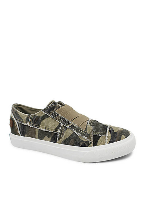 Blowfish Malibu  Canvas Slip On Marley Sneaker Camouflage