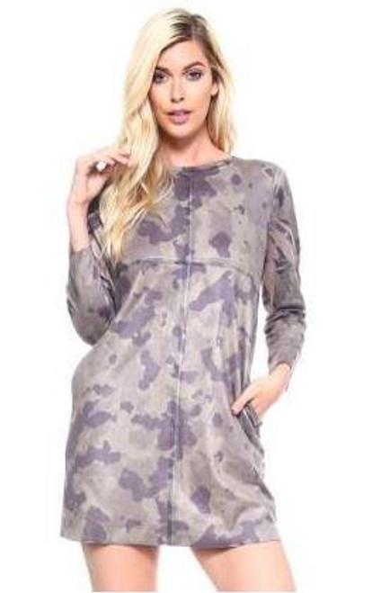 Joh Aurora Dress Camouflage