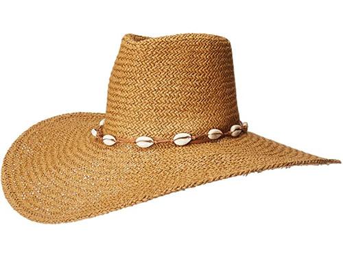 Hatattack Treasue Coast Shell Beach Hat Toast