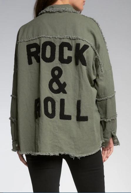Elan Devan Rock & Roll Jacket Olive