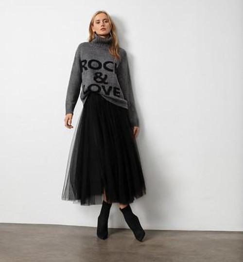 Elan Tiana Tulle Skirt Black