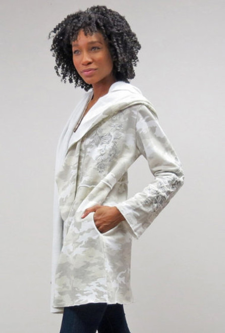 Caite & Kyla Wren Camouflage Jacket