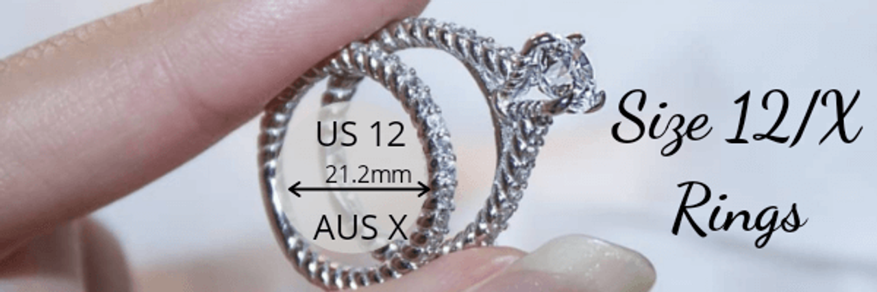 Size 12 X Rings