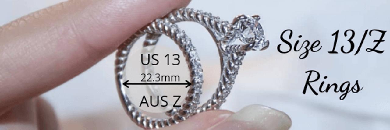Size 13 Z Rings